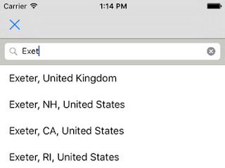 google places api search example