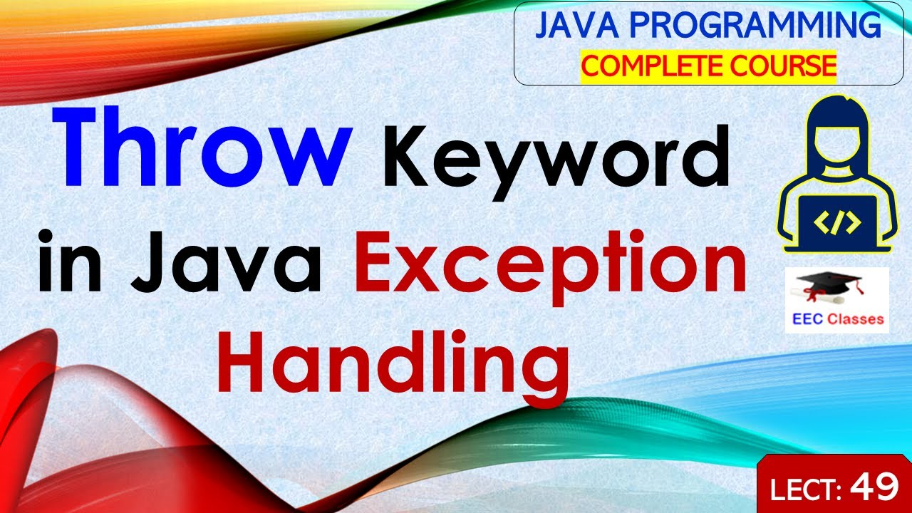 java throw exception with message example