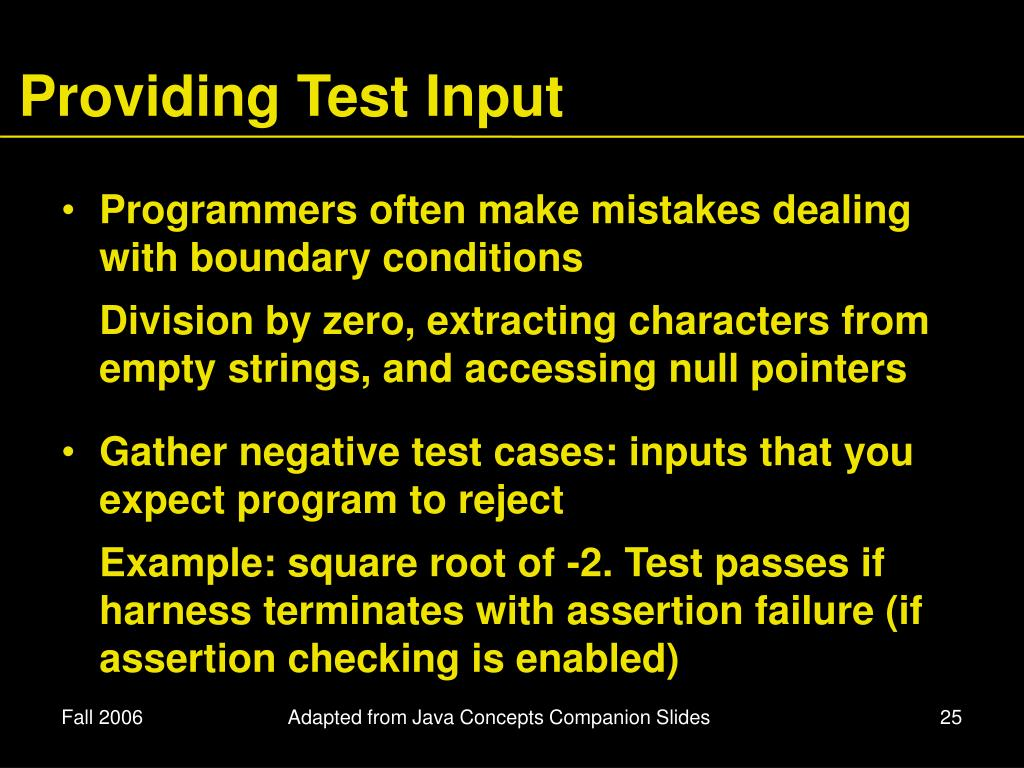 example debugging programs in java with answers