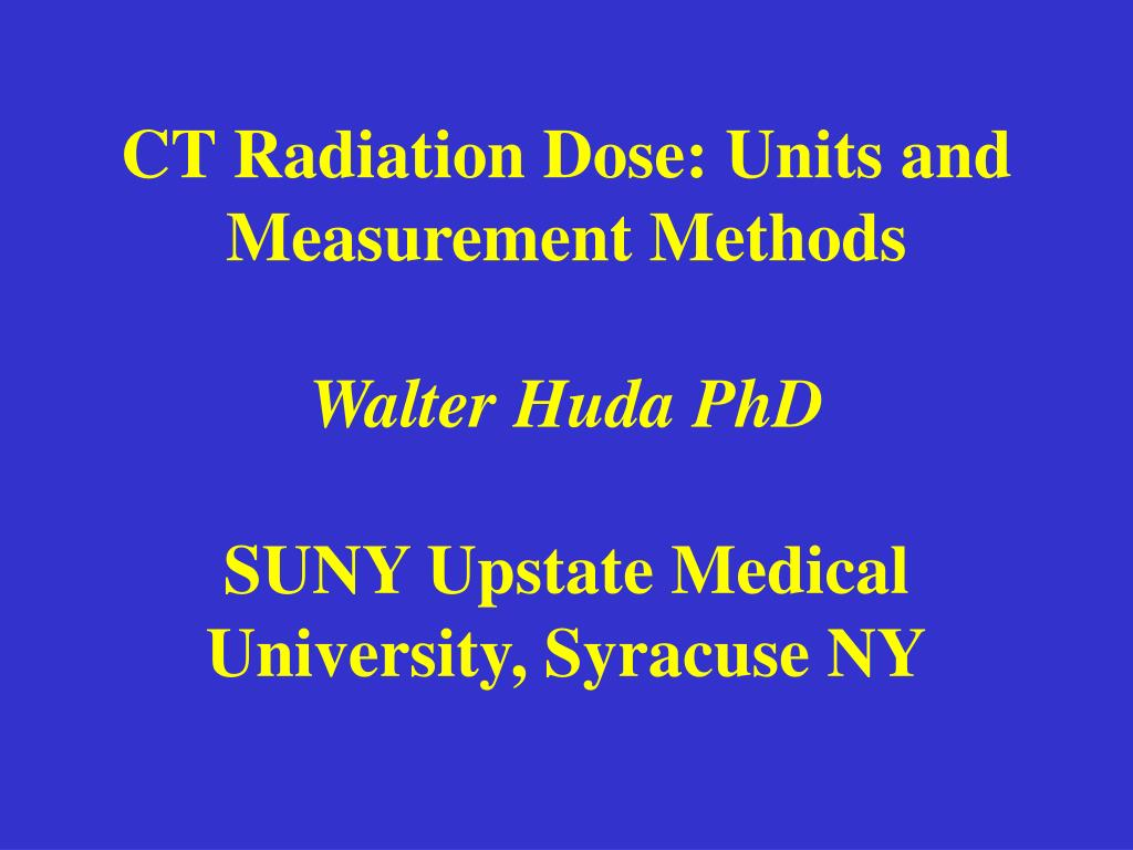 radiation dose structured report example