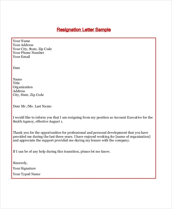 resignation letter after maternity leave example