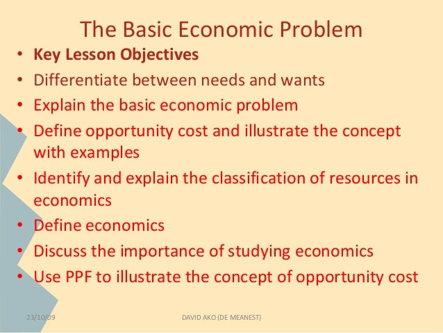 explain opportunity cost with example