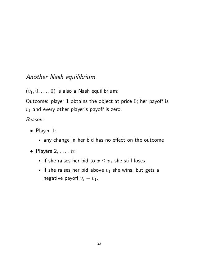 nash equilibrium example with payo