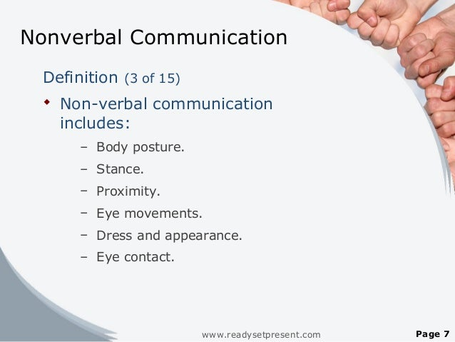 example of verbal communication and nonverbal communication