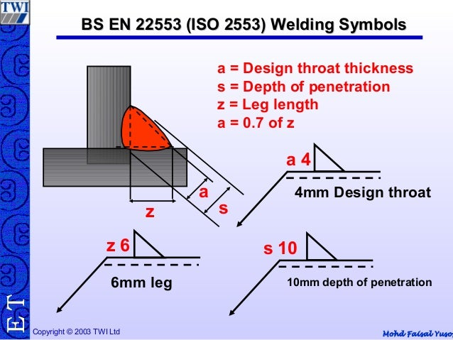 fillet weld size calculation example