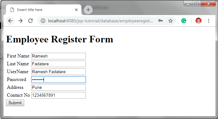 jdbc connection in java with mysql example
