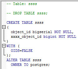 null constraint in potgres example with conditionals