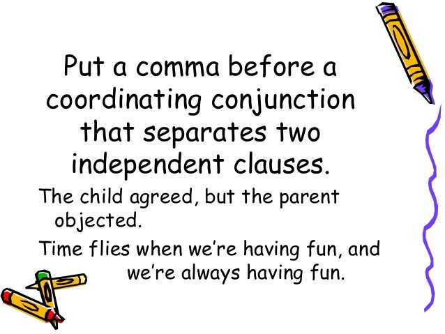 is for example always set ff by commas