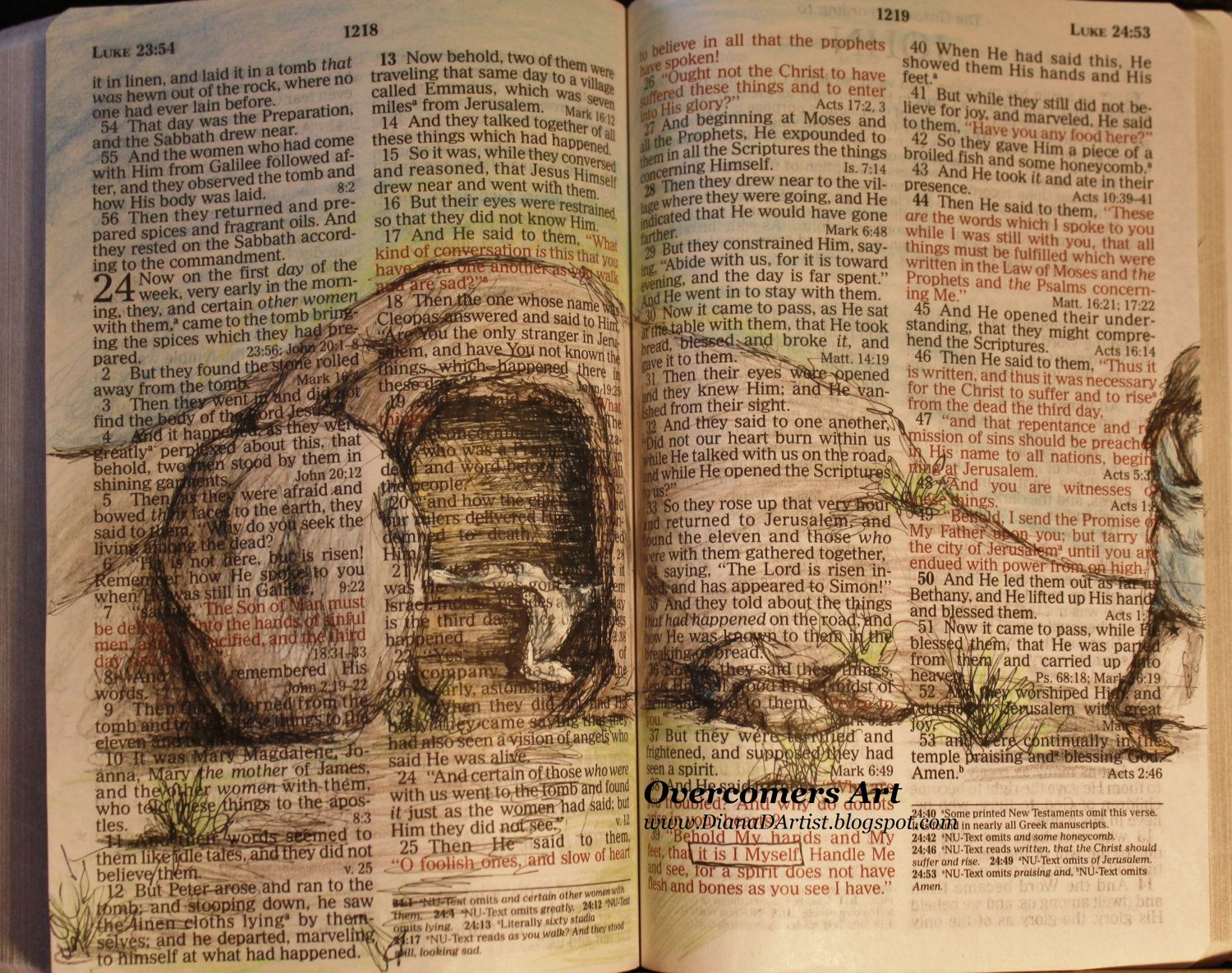 example of a call story in the bible
