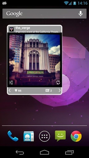 android swipe image gallery example