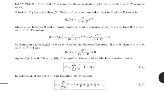 linearization through taylor series expansion example