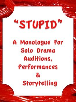 example of monologue script english