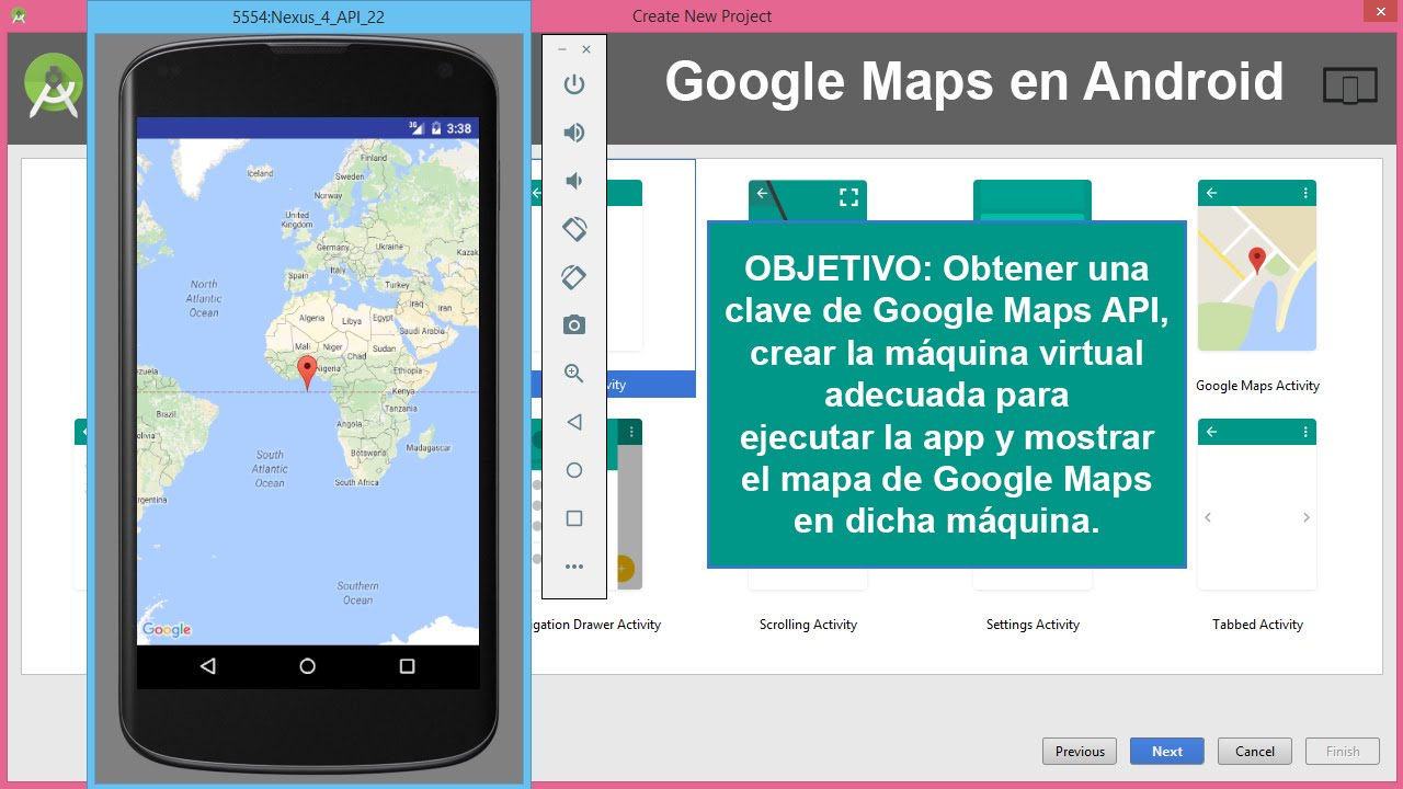 google maps integration example in android