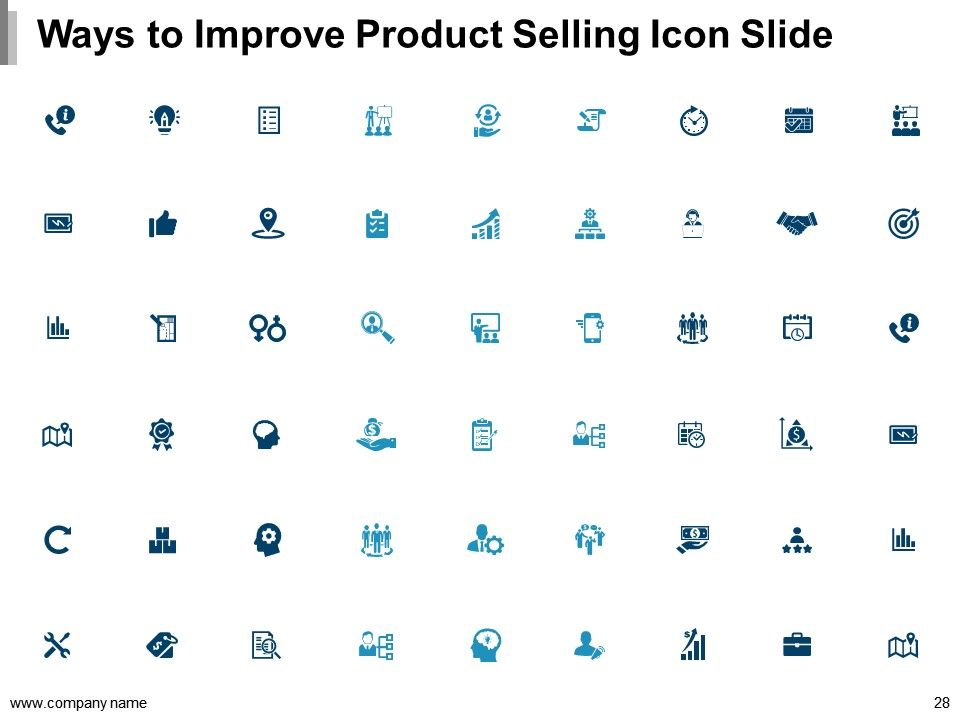 presentation to sell a product example