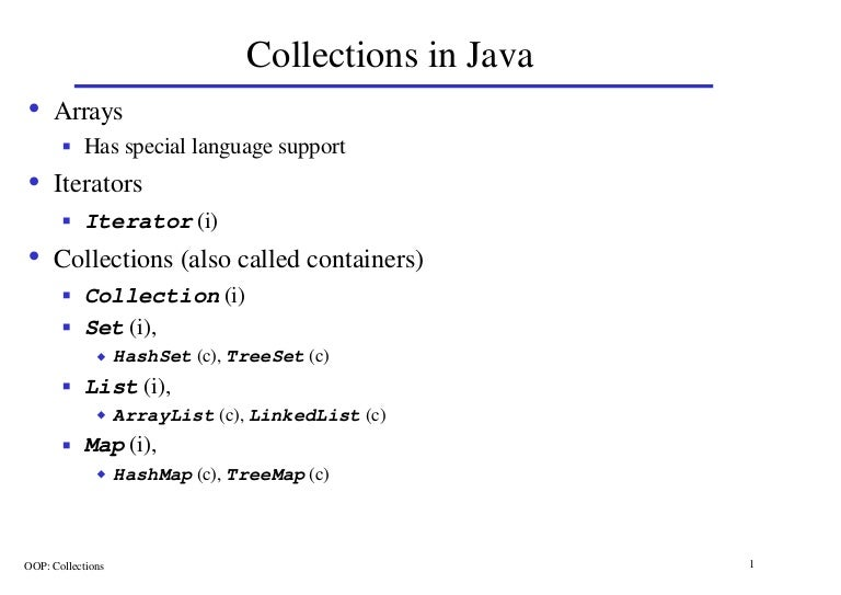 simple example of array in java