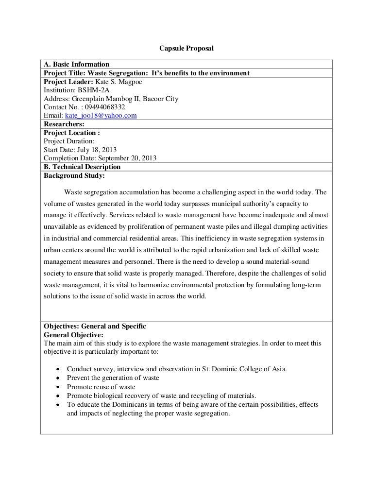writing a thesis proposal example